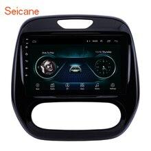 Seicane Android 2DIN Auto Head Unit Radio Audio Gps Multimedia Speler Voor Renault Captur Clio Samsung QM3 Handmatige A/ C 2011 2016