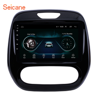 Seicane Android 8.1 2DIN Car Head Unit Radio Audio GPS Multimedia Player For Renault Captur CLIO Samsung QM3 Auto A/C 2011 2016