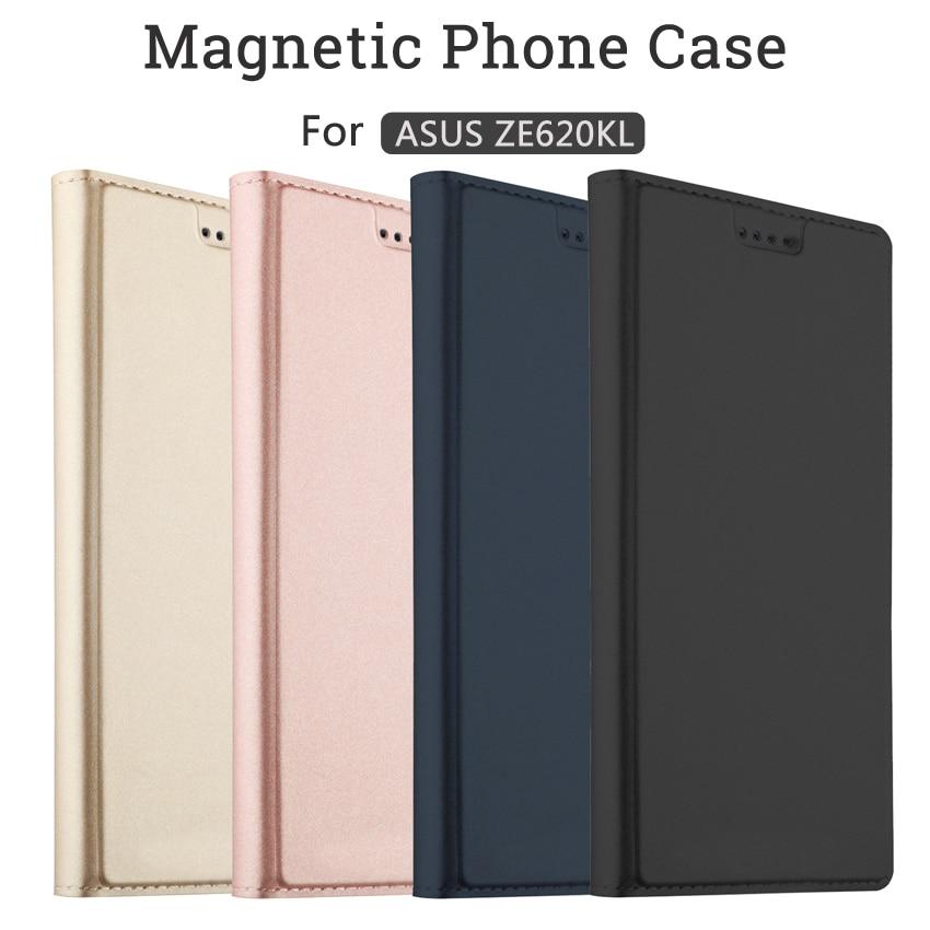 For Asus ZenFone 5z ZS620KL/Zenfone 5 ZE620KL Case Flip Cases For Asus ZenFone 5z ZS620KL Magnetic Case Stand Cover Wallet Case