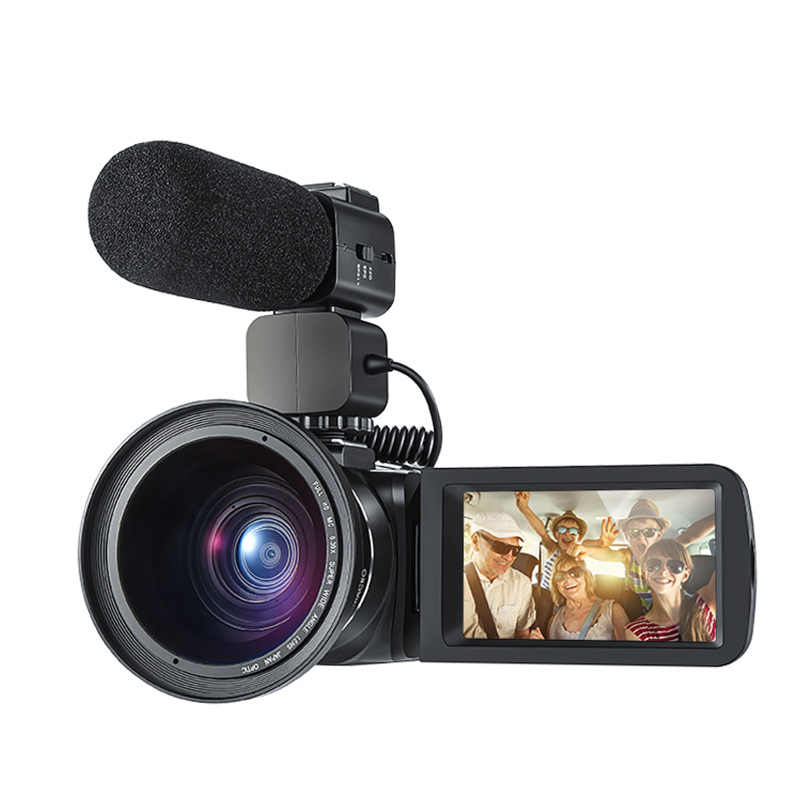 HDV-Z20 Digital Camera 3.0 inch Full HD TFT LCD Touch Screen Camera Professional Camcorder Remote Control 16X Zoom Cameras