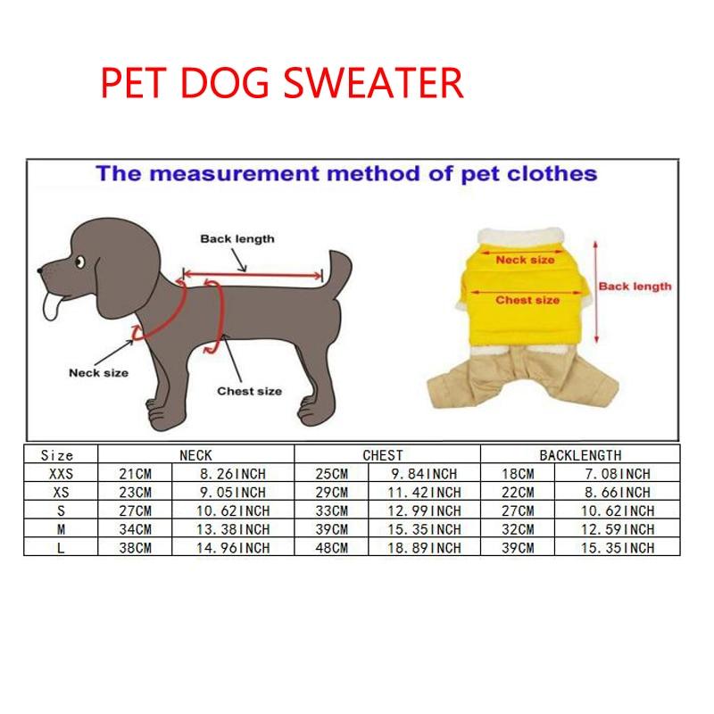 Navidad pequeño perro invierno ropa para perros Chihuahua punto ...