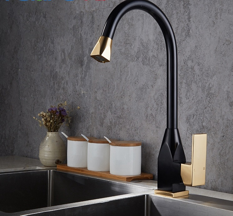 Kitchen Faucet Stainless Steel Bathroom Vertical Faucet Kitchen Polishing Vertical Installation Hot and Cold Sink Brushed Faucet