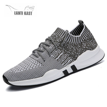 Men Running Sneakers Casual Flats Sports Shoes Soft Fashion Male Comfortable Outdoor Footwear кроссовки