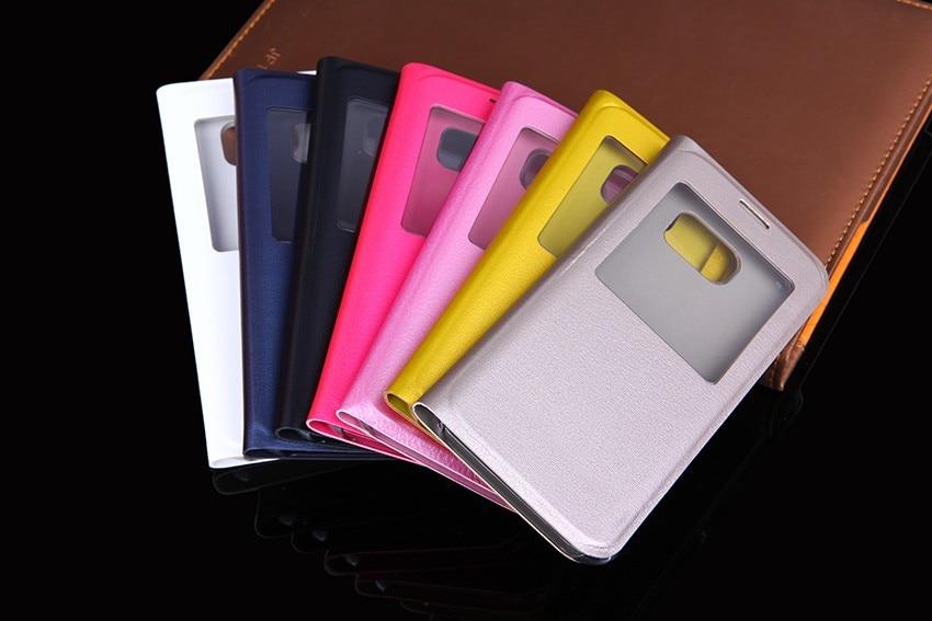 QTNED Luxury View Phone Case för Samsung S7 Edge Flip Cover Holster - Reservdelar och tillbehör för mobiltelefoner - Foto 6