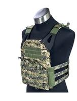 MILITECH AOR2 Camo 500D FLYYE Mil Spec Military JPC Plate Carrier Combat Molle Tactical Vest Army Military Combat Vests Carrier