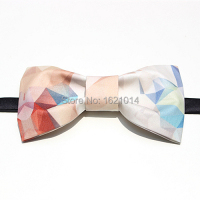 Best Gift Fantasy Geometric Handmade Bow Tie Wedding Party Dress Unisex Butterfly Bowties Fashion Accessories With Box
