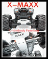 TRAXXAS X-MAXX Upgrade Spare Parts Metal protection plate