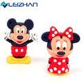 Cute Mickey and Minnie Shape USB Flash Drive 4gb 8gb 16gb 32gb 64gb Usb disk  USB 2.0 pen drive Memory Stick pendrive U Disk