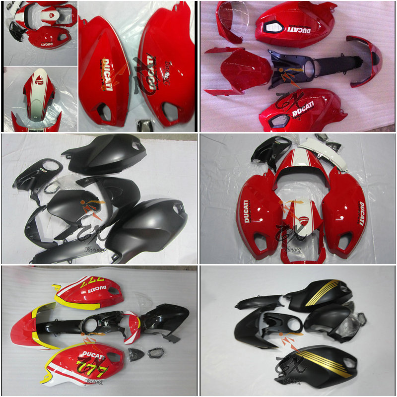 Motorcycle Fairings Kits For 696 795 796 1100 M1100 ABS Injection Fairing Bodywork Kit Injection Good