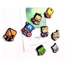 Super Hero Marvel Avenger Cartoon Figure Fridge Magnets Souvenir Icon Sticker Refrigerator Magnet Xmas Gift Home Decor Kid
