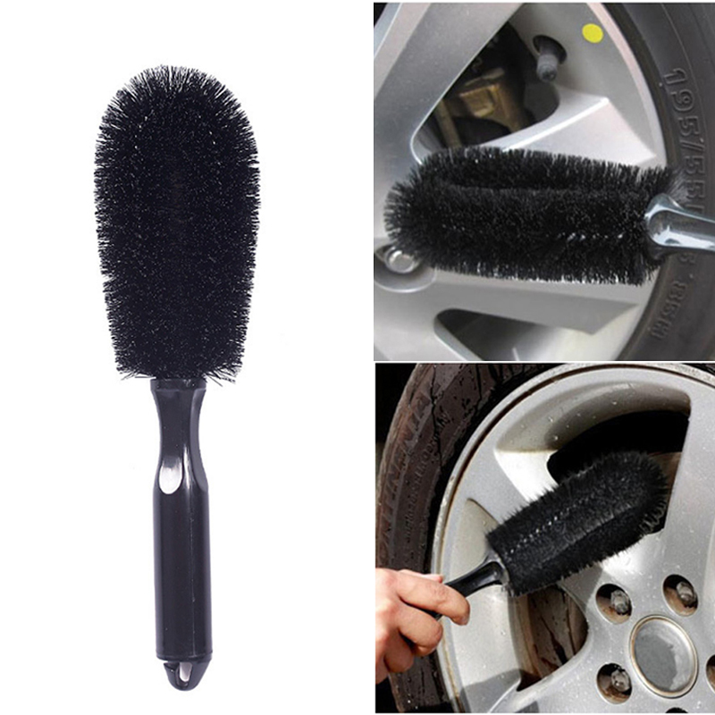 Wheel Tire Rim Scrub Brush Car Truck Motorcycle Bike Washing Cleaning Tool Auto Detailing Brushes Car Accessories