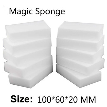 10*6*2cm 100 pcs Kitchen Clean Magic Sponge Melamine Eraser rub Cleaning Melamine dishes accessory Melamine wholesale supplier фото