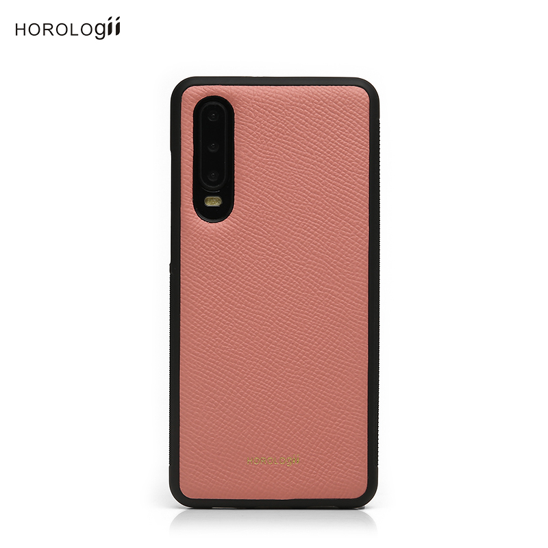 Horologii Customized Phone Cover for Huawei Mate 20 Case Real Leather Case cell mobile Case