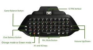 Image 3 - Chatpad ل XBOX ONE وحدة تحكم لاسلكية لعبة لوحة المفاتيح ل Xbox one رسالة صغيرة لوحة المفاتيح