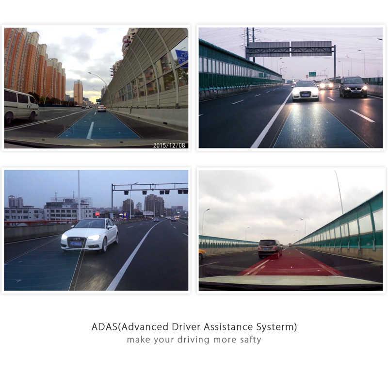 """YI Smart Dash камера авто вождения рекордер WiFi Автомобильный цифровой видеорегистратор HD 1080P 2,7 """"165 градусов 60fps ADAS безопасное напоминание Dashcam"""