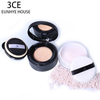 3CE Eunhye House Brand BB CC Creams Loose Powder 1Set Waterproof Water Resistant Whitening Long Lasting