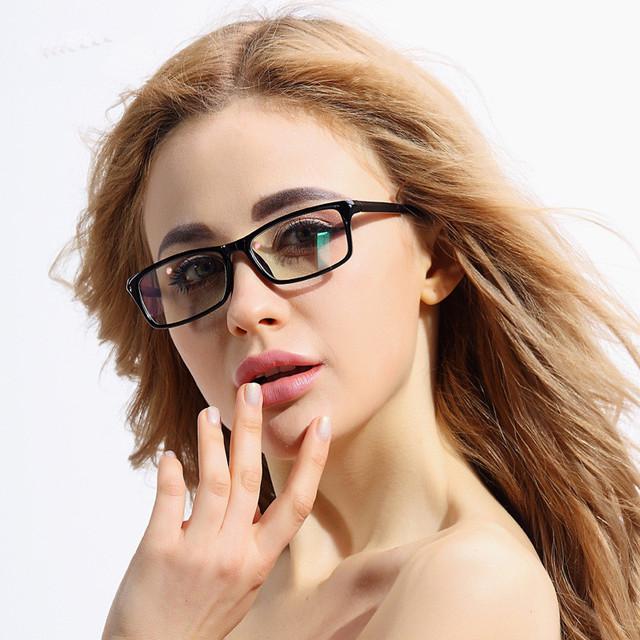 Anti reflexo óculos mulheres e homens óculos de computador para Monitor
