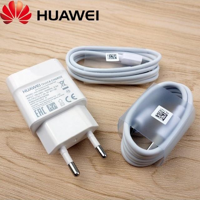 limited guantity limited guantity reputable site € 4.51 17% de réduction|Original Huawei P20 lite chargeur QC2.0 EU mur  Micro usb type c câble 9 V 2A Charge adaptateur secteur pour Huawei P10 P9  nova ...