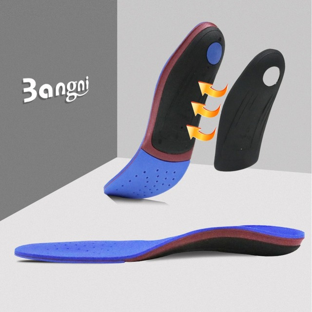 3ANGNI Orthotic Arch Support Shoe Insert Orthopedic Mild/Moderate Flat Feet insole Heel Pain Plantar Fasciitis Men Woman Insole