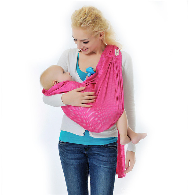 2016 Fashion Cotton Baby Sling Soft Baby Carrier towel newborn infant toddler carrier breathable child sling horizontal backpack