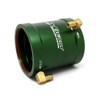 rc boat 40 50mm water cooling jacket for 4074 4082 brushless motor