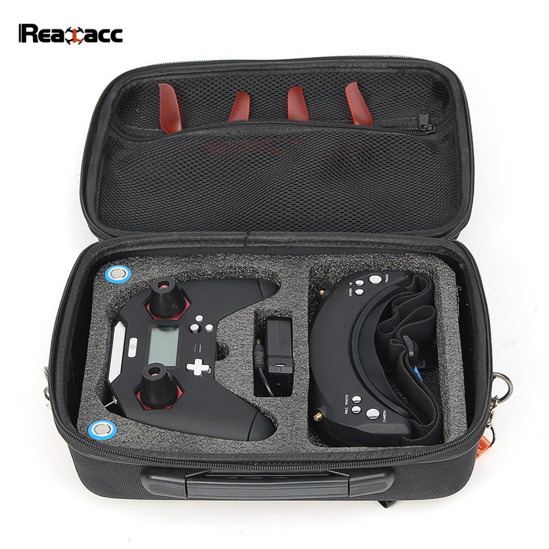 Realacc X-lite Transmitter Edition Shoulder Bag Handbag Case for FrSky X-lite Remote Controller Goggles RC Models Multicopter frsky taranis q x7 2 4ghz 16ch mode 2 transmitter rc multicopter model
