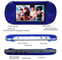 8GB Handheld Game Console 4.3 Inch 32Bit Video Game Console Built In Classic Retro Games MP3 MP4 Player Support Ebook Camera