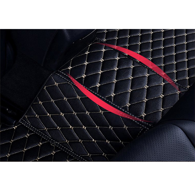 Image 4 - Flash mat leather car floor mats for Tesla Model S 2014 2015 2016 2017 2018 Custom foot Pads automobile carpet car covers-in Floor Mats from Automobiles & Motorcycles