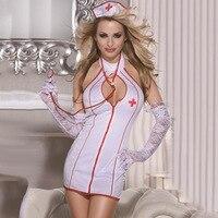 Porno Lingerie Hot Women Baby Doll Lenceria Erotic Lingerie Dress Cosplay Nurse Uniform Costumes Underwear Sex Clothes Role