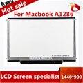 Nueva original para apple macbook pro a1286 15 ''lcd pantalla mc721 mc723 lp154wp4-tla1 ltn154bt08