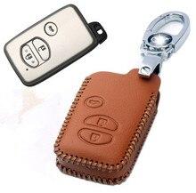 Высокое качество! Особый случай ключи от машины для Toyota Land Cruiser Prado 150 2017-2010 модные ключ покрытие автомобиля ключ бумажник, Бесплатная доставка
