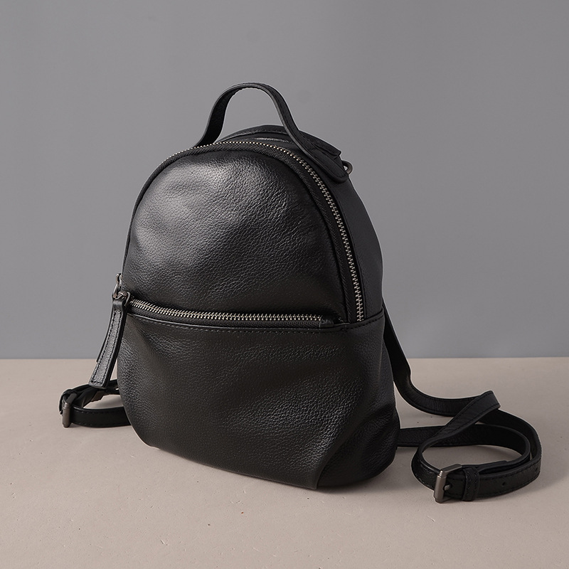 SIKU women leather backpack fashion women bag brand korean backpack female siku 0813 бетономешалка
