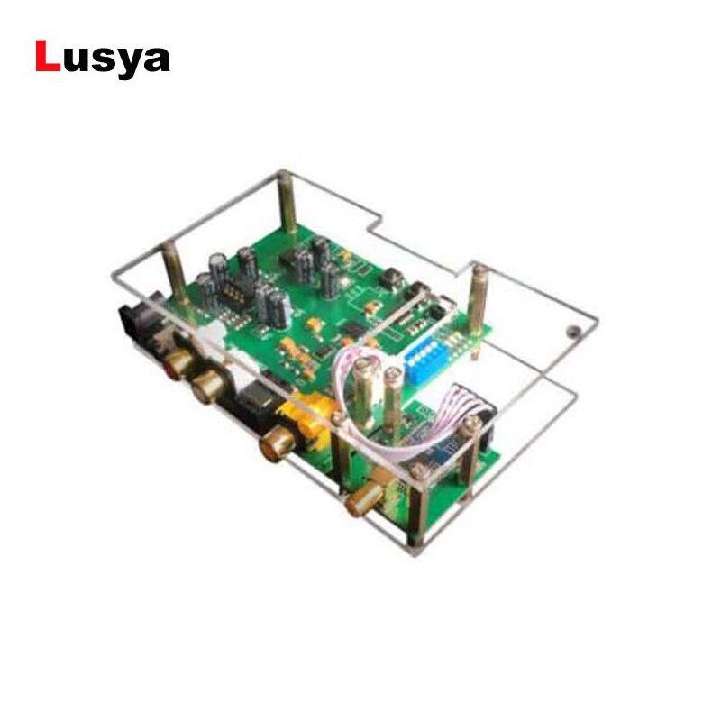 Gutherzig Es9038q2m Jrc5532 Dac I2s Spidf Csr8675 Aptx-hd Bluetooth 5,0 Modul Decoder Board In Fall Mit Antenne Fall Unterhaltungselektronik