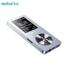 NUEVO Deporte Reproductor de MP3 Con Altavoz 8G 80 Horas Full Metal Reproductor de Música MP3 Con Grabadora de Voz Pantalla de Vídeo Auricular Correa Para el Brazo