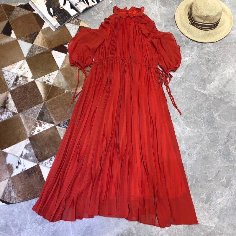 Милое длинное платье новые модные женские туфли 2019 летнее платье высокого качества Элитный бренд Европейский дизайн вечерние стильное пла