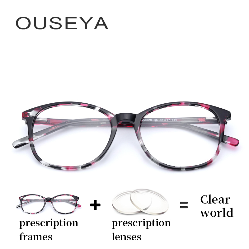 b0ab9f8ac0 Buy prescription eyewear women with lens and get free shipping on  AliExpress.com