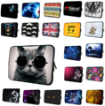 "Lovely Cat 7 8 inch Universal Tablet Netbook Zipper Neoprene Liner Sleeve Case Pouch Bags For Apple iPad Mini 7.9"" 8.1"" Cases"