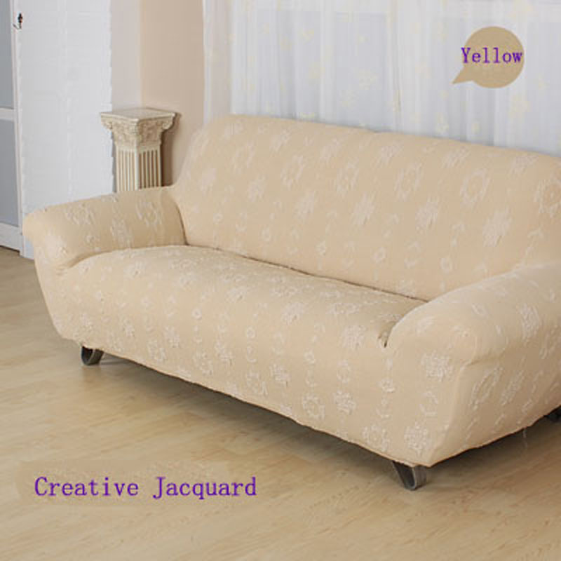 Cheap Sofa Covers Ready Made: High Quality Couch Sofa Cover Elastic Soft Polyester