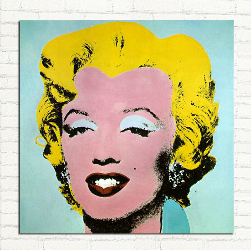 Ready to Vintage Marilyn Monroe Art Picture on Stretched Canvas Wall Art Décor