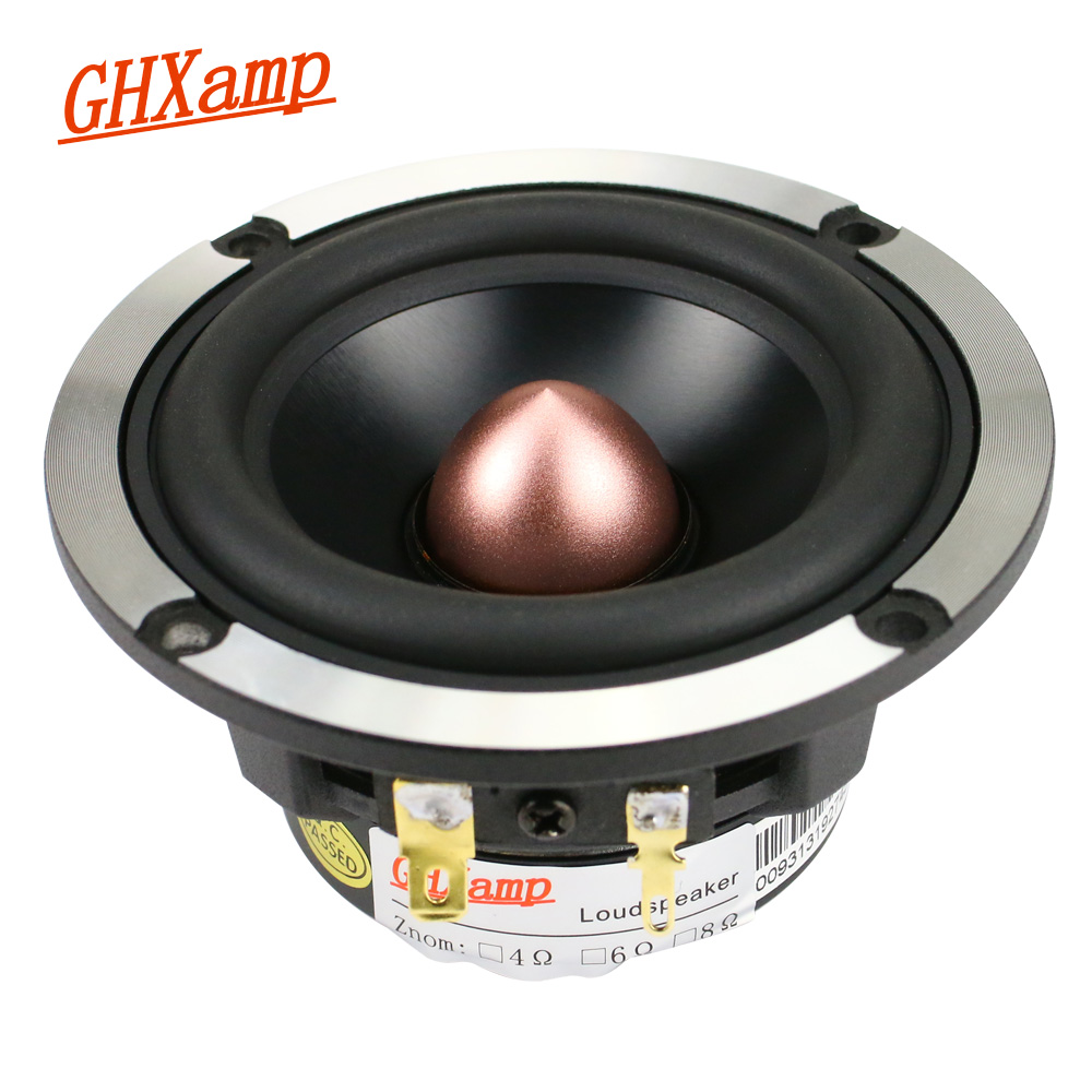 GHXAMP 3 นิ้ว Midrange ลำโพง 8ohm 30 W Neodymium 92DB Mediant ลำโพงสำหรับอัพเกรดเครื่องเสียงรถยนต์ 3 ลำโพง 1 PC-ใน ลำโพงชุด จาก อุปกรณ์อิเล็กทรอนิกส์ บน AliExpress - 11.11_สิบเอ็ด สิบเอ็ดวันคนโสด 1