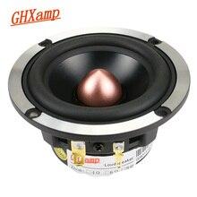 Ghxamp 3 Polegada alto falante mediante do neodímio 92db dos oradores 8ohm 30 w do midrange para a elevação de áudio do carro 3 alto falantes da maneira 1 pc