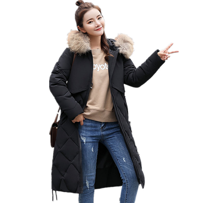 À Taille Coral gray Bas Big Plus beige caramel Plaid red black D'hiver Vers Red De Green Parka Fourrure Veste Renard Diamant army Avec Le Manteau Blue Femmes 2018 Col Naturelle Argent royal Capuchon IbfmY6gyv7