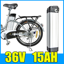 36V 15AH Lithium Battery , Aluminum alloy Battery Pack , Electric bicycle Scooter E-bike Free Shipping free shipping 36v electric bicycle battery box e bike lithium battery case for 36v li ion battery pack not include the battery