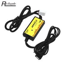 Автомобиль MP3 аудио Интерфейс CD адаптер SD AUX кабель для передачи данных USB адаптер Connect Virtual cd-чейнджер для Honda Acura с усилители домашние чип