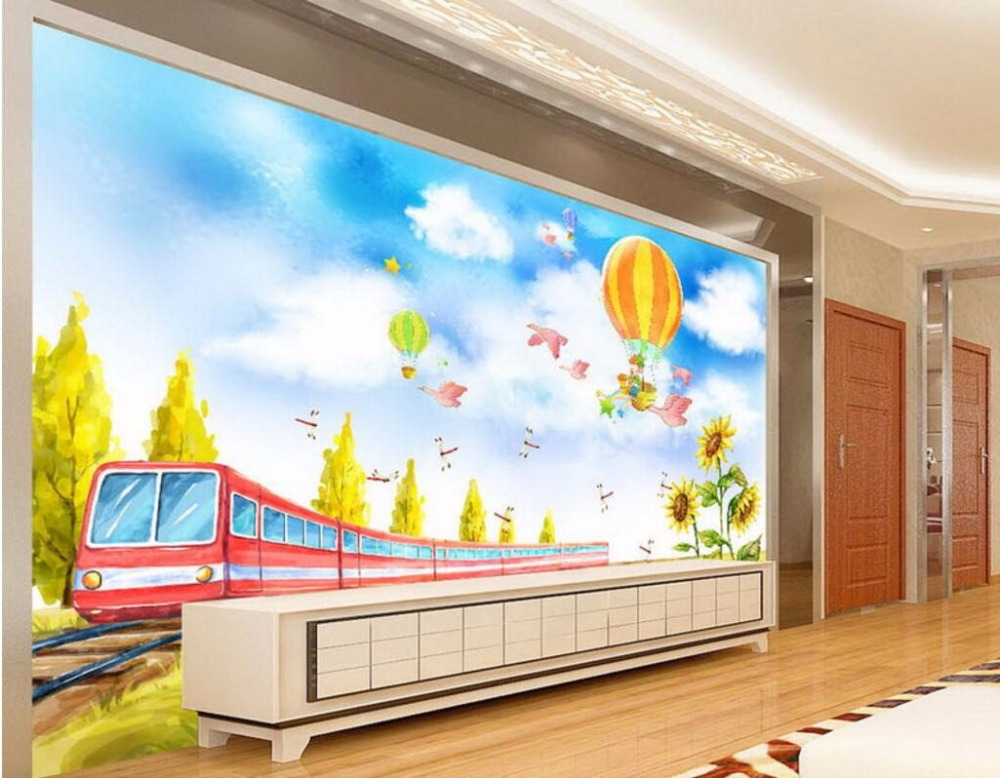 Wall Murals Cheap online get cheap train wall mural -aliexpress | alibaba group