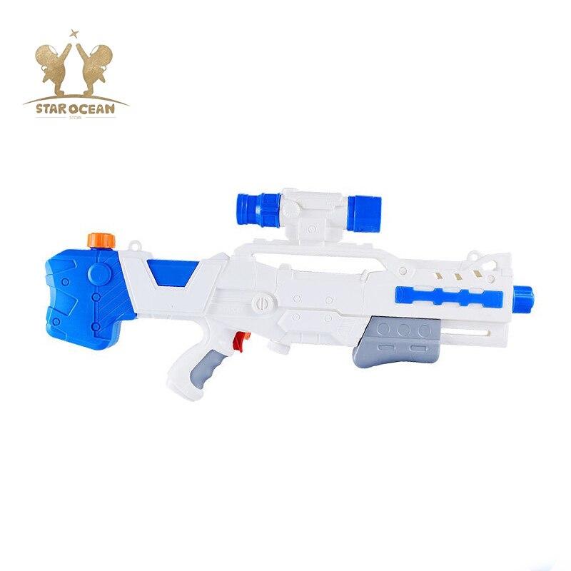 Swimming Water Gun Blaster Water Gun Summer Holiday Water Gun Toy Kids Trigger Beach Outdoor Games Large Capacity Water Gun