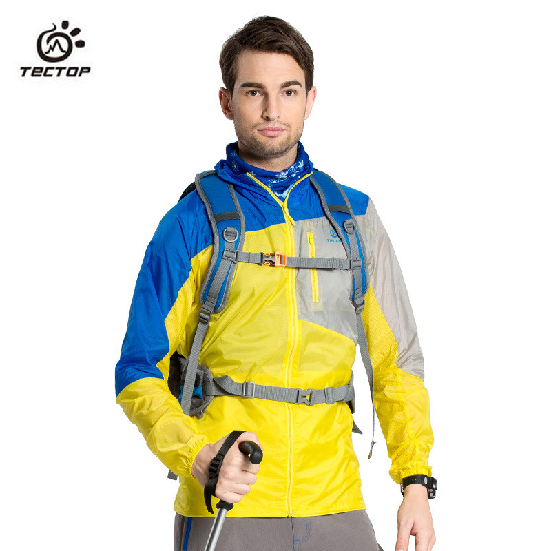 2016 uomini di estate Outdoor Sport protezione solare giacca di pelle - Abbigliamento sportivo e accessori