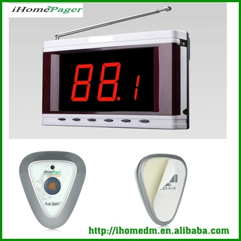 Coffee restaurant equipment Kitchen call waiter system certificated display screen receiver customer service monitor