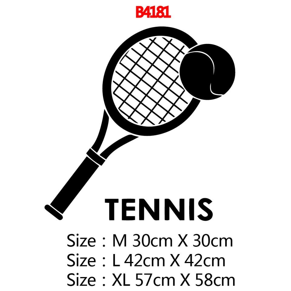 Fashion tennis Waterproof Wall Stickers