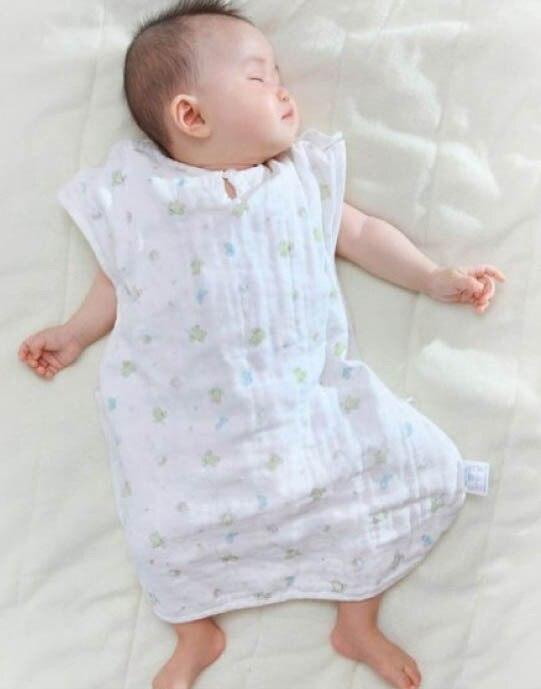 Спальный мешок для малышей хлопок марли Материал шесть слоев Марли 77 см* 46 см